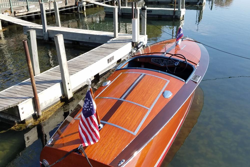 Lake Geneva Lakes antique and classic boat show