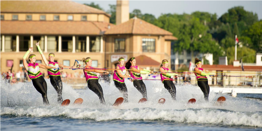 Venetian Festival Water Show